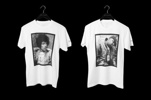 Sean John Commemorates Its 20th Anniversary With Themed Tees Honoring Musical Legends