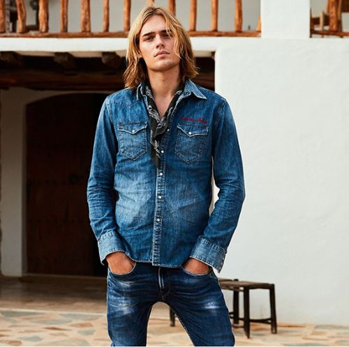 5 ways to match the men's jeans shirt