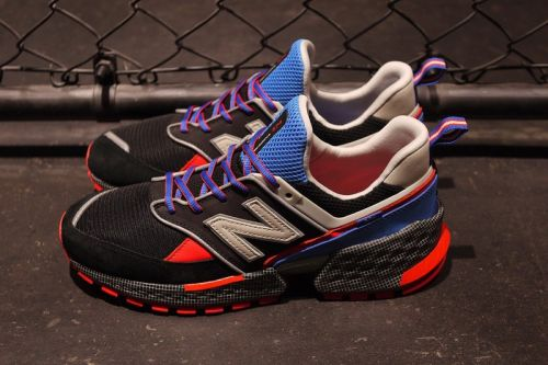Mita sneakers & WHIZ LIMITED Team up on Reflective Color-Blocked New Balance MS574 V2