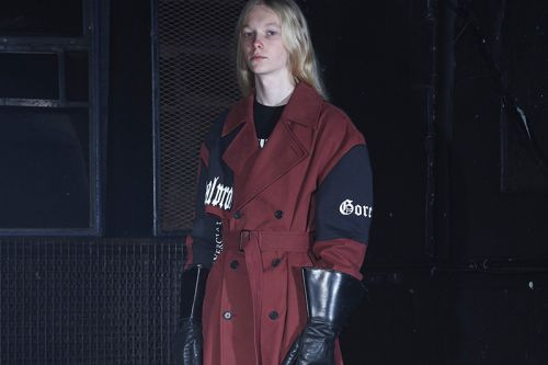 SAMIZDAT by Yang Li Channels Industrial Metal for FW19 Collection