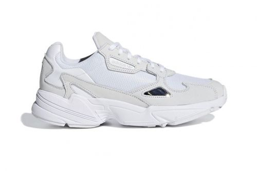 "The adidas Falcon Receives a ""Triple White"" Makeover"