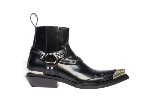 Balenciaga Santiag Harness Booties Bring Forth Polished Western Style