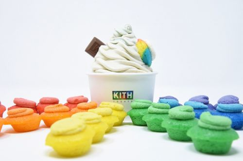 KITH Treats & Baked by Melissa Celebrate Pride Month With Mini Rainbow Cupcake Swirls