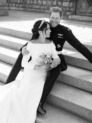 Hark, the Official Royal Wedding Photos Are Here