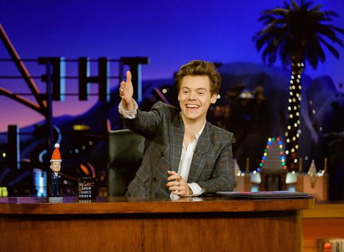 Our Boyfriend Harry Styles Filled in for James Corden and It's a Gift