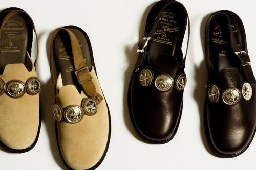 Foot The Coacher Joins END CUSTOM JEWELERS for Silver-Studded Sandals