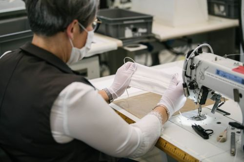 Louis Vuitton's French Workshops to Create Thousands of Face Masks