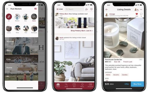 Poshmark Focuses on the Fashionable Side of Home Decor