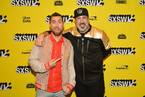 It's Tearin' Up Our Hearts! Former 'NSync Members Lance Bass and Joey Fatone Reunite - See Pics