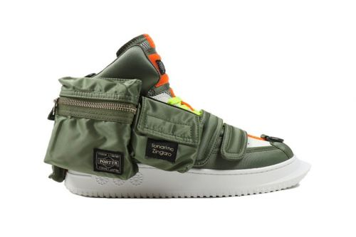 """Takashi Murakami & PORTER's """"BS - 06"""" T.Z. Original Sneakers Are up for Raffle"""