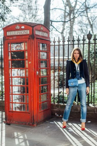 All the Street Style Stars in London Are Doing *This* to Their Denim