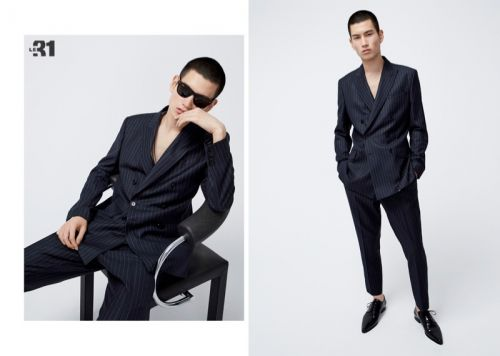 Monochromatic Vision: Kohei Takabatake Inspires in LE 31 Fits