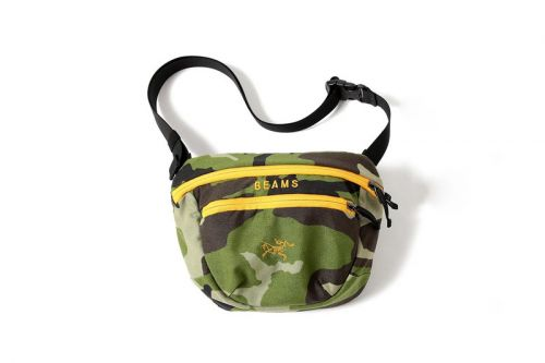 BEAMS Teams up With Arc'teryx for a Camouflaged Bag Collection