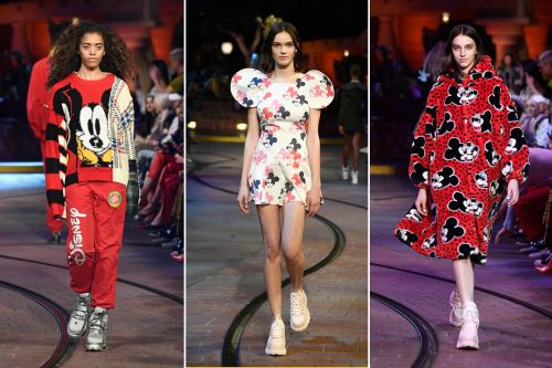 Here's a Mickey Mouse fashion show for your inner child