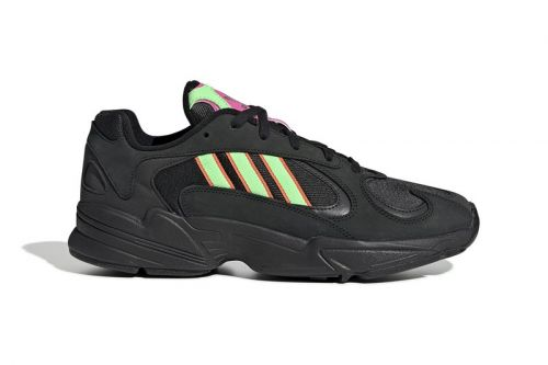 The adidas Yung-1 Gets Hit With Neon Accents