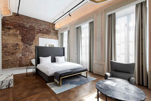 YES.design.architecture Transforms Historic Mansion Into Modern Luxury Hotel