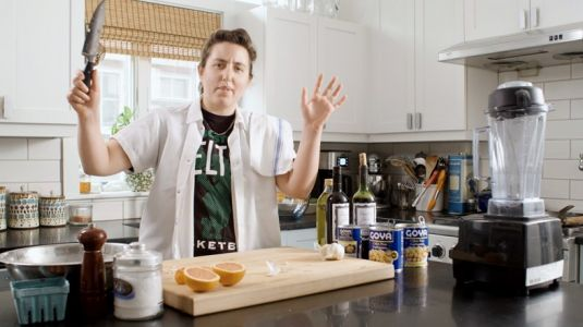 Watch this surreal cooking show teaching you how to make the worst food