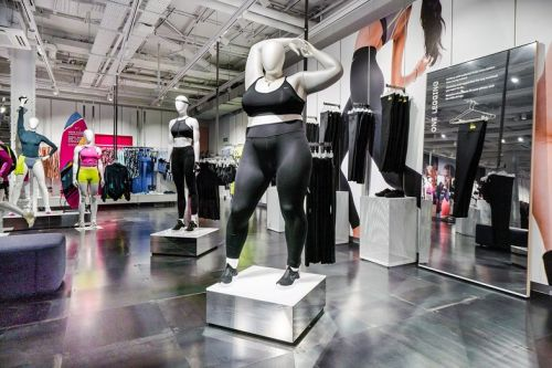 Nike unveils plus-size mannequins in new dedicated women's space