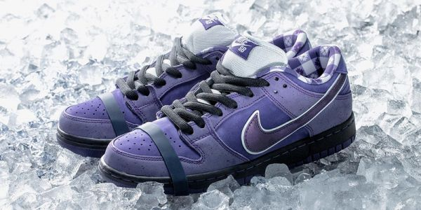 """Someone Paid $10,000 USD for Concepts x Nike SB Dunk Low """"Purple Lobster"""""""