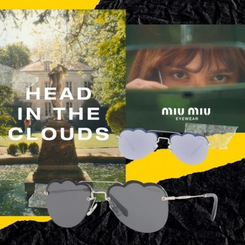 Miu Miu Eyewear: Head in the Clouds