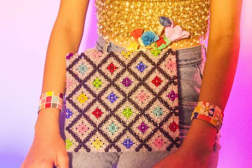 These beaded handbags were made for your inner child