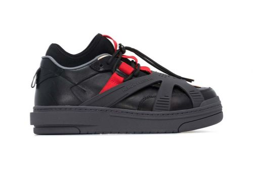 """Heron Preston Releases Rubber-Wrapped """"Protection"""" Sneakers"""