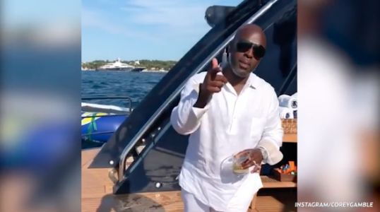 Party Animals! Kris Jenner 'Likes' a Video of Corey Gamble ~Getting Down~ During Their European Vacation