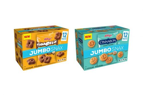 Kellogg's Introduces Cinnabon and SMORZ Jumbo Snax