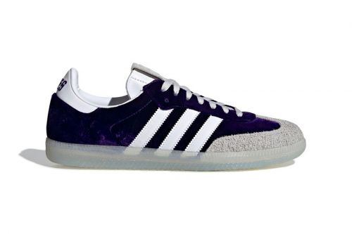 Adidas Originals Crafts Premium Velvet Samba OG for 4/20