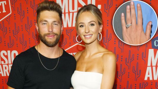Chris Lane vs. Ben Higgins! See How Lauren Bushnell's New Engagement Ring Compares to Her First