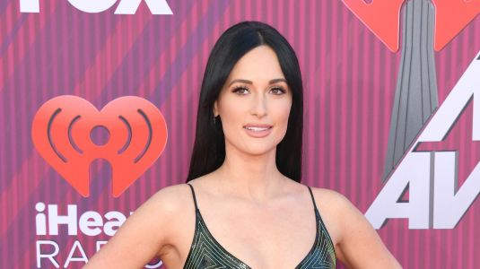 Kacey Musgraves Performs on a Giant Rainbow at the iHeartRadio Awards Because She's a Queen