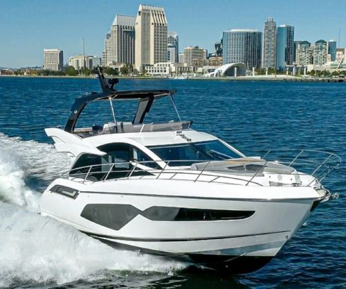 Sunseeker Manhattan 55 Leads 'Famous Five' to Asia