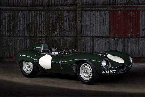 The Iconic 1955 Jaguar D-Type Goes Under The Hammer at RM Sotheby's in Paris
