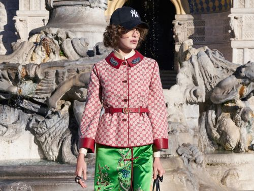 Gucci Is Serving Up 'Guccified' Baseball Caps and Hiking Boots for Pre-Fall 2018