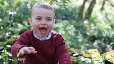 The Royal Family's New Photos Of Prince Louis Will Make You Smile