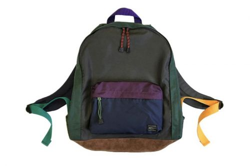 PORTER and kolor Link Up on Color-Blocked Bags