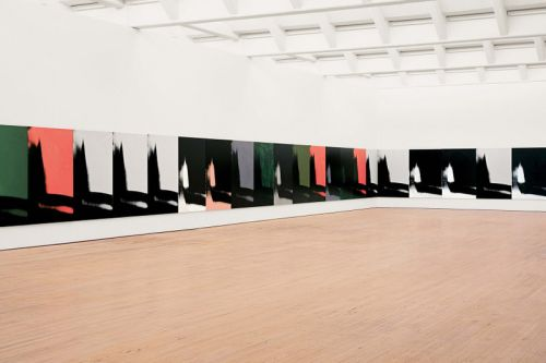 Calvin Klein to Display Andy Warhol's Iconic 'Shadows' Paintings