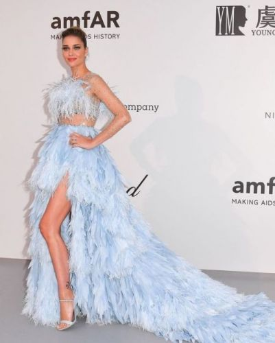 Brazilian Model Ana Beatriz Barros El Chiaty turned heads in her