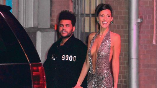 The Weeknd Seemingly Surprised Girlfriend Bella Hadid and We're Like Totally Crying, NGL