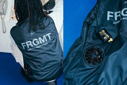 Fragment design and uniform experiment Tease Burtle Fan-Cooled Vest