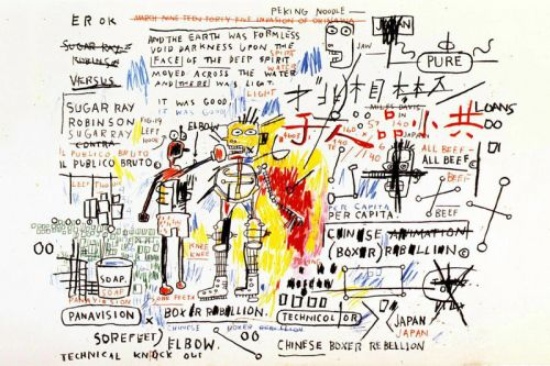 Pace Announces Limited-to-60 Basquiat 'Boxer Rebellion' Prints, Pricing Starts at $35K