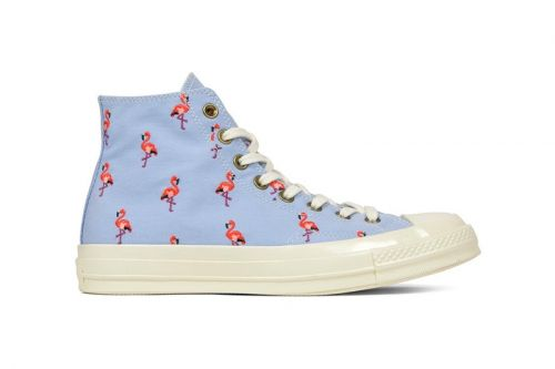 Converse Chuck Taylor '70s Receives All-Over Flamingo Embroidery
