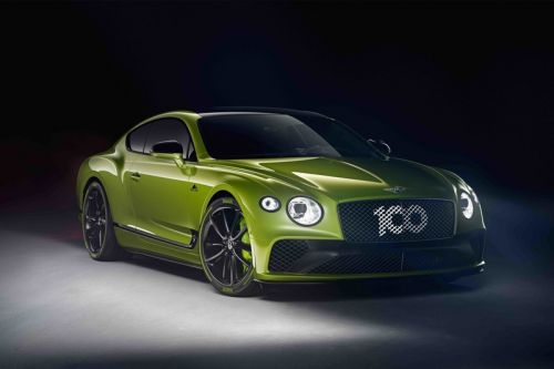 Bentley Celebrates Pikes Peak Win With Special Edition Continental GT