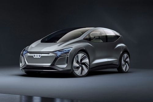 """Audi Unveils """"City Car of the Future"""" Concept Vehicle Complete With Living Plants"""