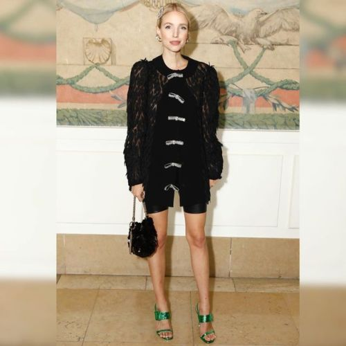Blogger Leonie Hanne looked gorgeous at the Georges HOBEIKA