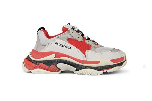 """Balenciaga Unveils Triple S Clad in """"Red/Off-White"""""""