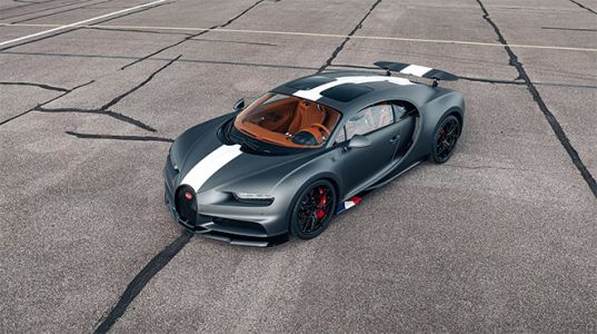 "Bugatti Takes Flight With An All-New Chiron Sport Dubbed ""Les Légendes du Ciel"""