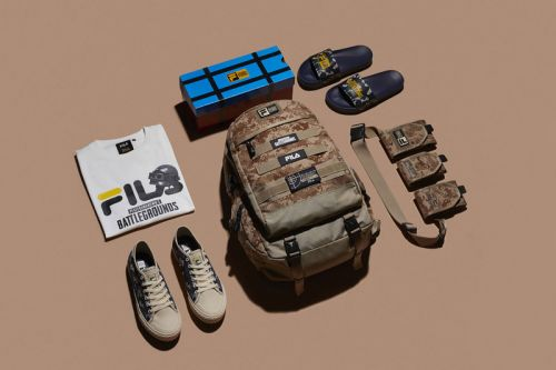 FILA's Official 'PUBG' Capsule Channels the World of Battle Royale