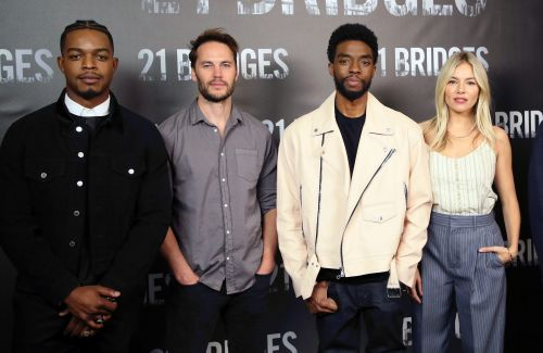 Chadwick Boseman Took A Pay Cut To Get '21 Bridges' Co-Star Sienna Miller Paid Her Worth