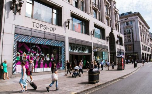Arcadia Group no longer king of the high street